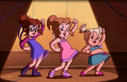Wolfman The Chipettes Dance 3