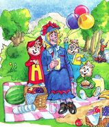 A Mother for The Chipmunks Illustration 3