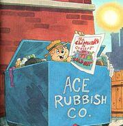 The Chipmunks in Santa Harry Illustration 1