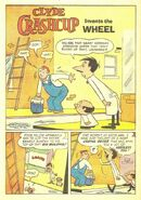 Clyde Crashcup Dell Comic 2 - Invents the Wheel