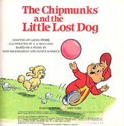The Chipmunks and the Little Lost Dog Title Page