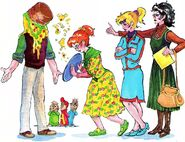 A Mother for The Chipmunks Illustration 2
