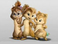 The Chipettes CGI Concept Art