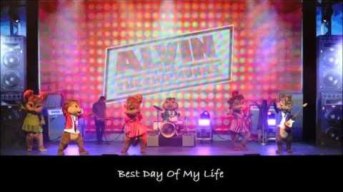Best Day Of My Life - The Chipmunks & The Chipettes