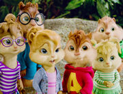 The Chipmunks and The Chipettes Confused