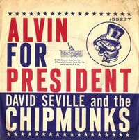 Alvin For President Single Cover