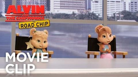 "Alvin and the Chipmunks The Road Chip ""You're Going to Hollywood"" Clip HD 20th Century Fox"