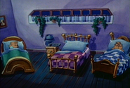 The Chipmunks' Room in 80's Series