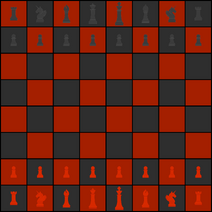 Chess board art v4