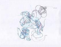 King mickey comforting alvin sketch 0
