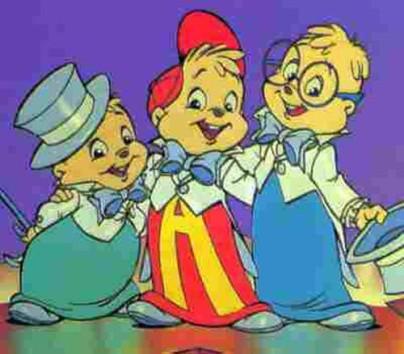 Alvin Y Las Ardillas Caricatura