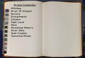 Arcane Compendium (Mechanics Page)