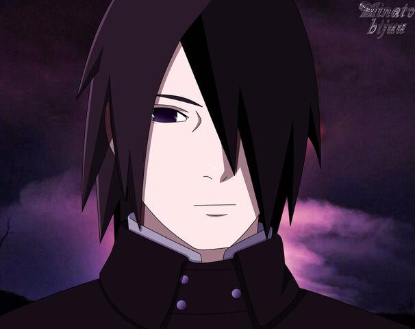 File:Sasuke boruto the movie smile by minatobijuu-d9o40hg.jpg