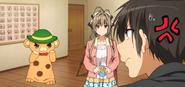 Moffle, Isuzu y Seiya