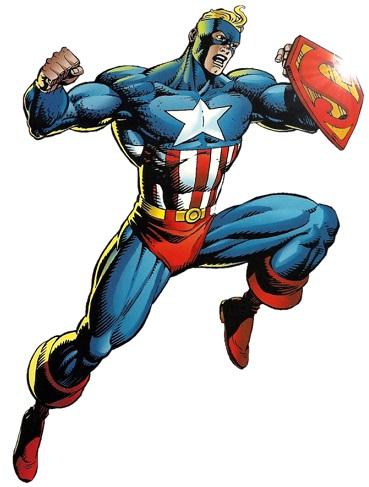 Image result for amalgam comics heroes super soldier