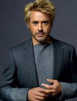 Robert downey jr blonde