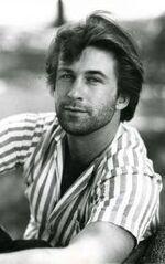 Alec Baldwin -1985, NYC