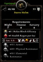Stern helm