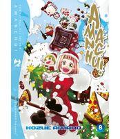 Amanchu (manga) Italian Volume 8 (Front Cover)