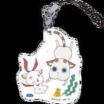 Amanchu! Petitkko Trading Acrylic Strap Cha and Ohime