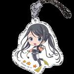 Amanchu! Petitkko Trading Acrylic Strap Futaba Ooki