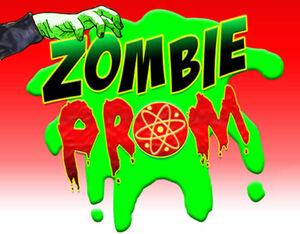 Zombie prom logo