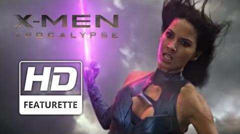 "X-Men Apocalypse ""Psylocke"" Featurette"