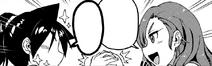 La entrenadora convence a Megumi para que fortalesca su trasero