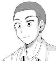 Makishima con nuevo corte de cabello