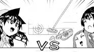 Manabu y Megumi VS Aki y Rui