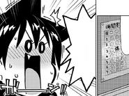 Megumi se da cuenta que le toca Gimnasio en el tercer perirodo