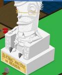 Bleed statue