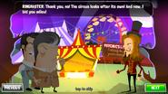 Circus Freakout Ringmaster Poser
