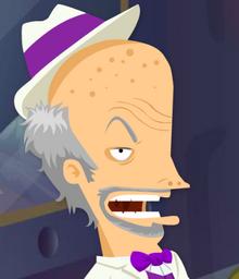 Grampa hubris d'obscene is serious hard cookie