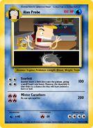 Alan Probe Pokemon Card