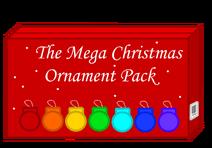 The Mega Christmas Ornament Pack Box