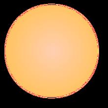 Orange Dwarf star