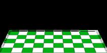 Green and White Tiles Tilt