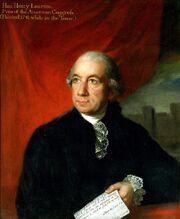 Henry laurens former president of congress tower of london