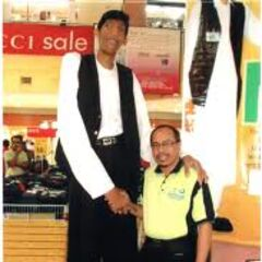 Ahmed at a store.