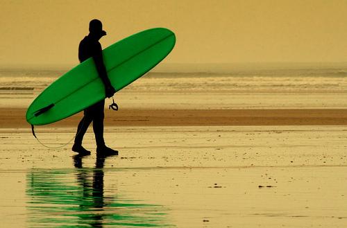 Devon surfer