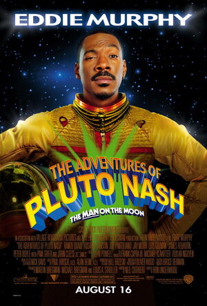 The adventures of pluto nash the man on the moon promo poster