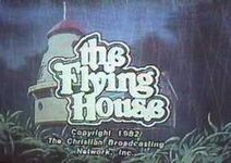 Flying house title card