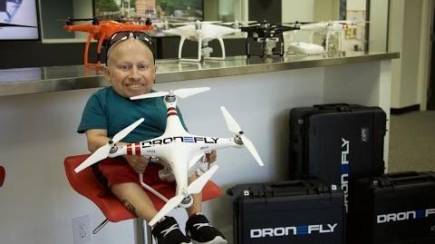 I Crash My Drone! Verne Troyer