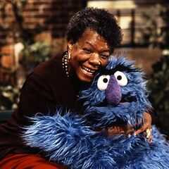 Angelou in Episode 3828 of <i>Sesame Street</i>