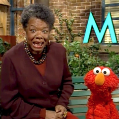 Angelou in Episode 3832 of <i>Sesame Street</i>