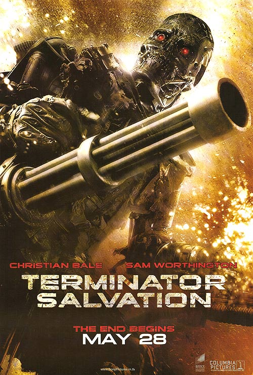 Terminator salvation the amazing everything wiki fandom powered terminator salvation the end begins may 28 poster thecheapjerseys Image collections