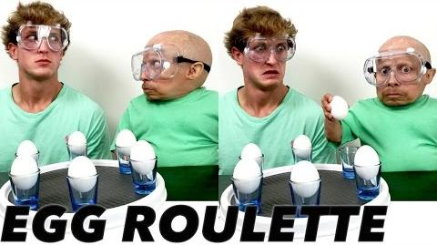 Egg Roulette Challenge Verne Troyer vs Logan Paul