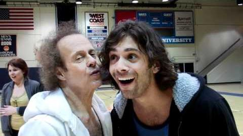 Grant Kissed by Richard Simmons!