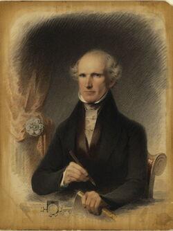 James Barton Longacre self portrait 1845